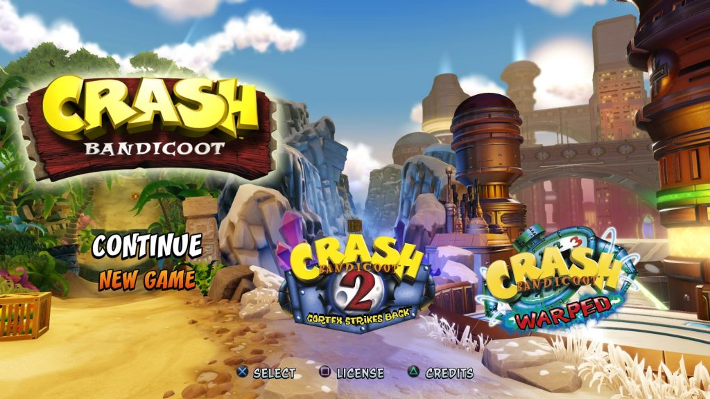 Crash Bandicoot N Sane Trilogy – PS4 | Review | SquareXO