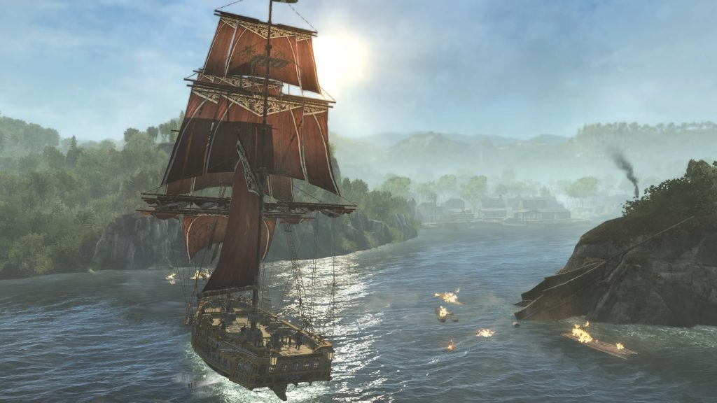 Assassin S Creed Rogue Remastered Ps4 Review Squarexo